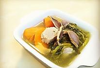 西洋菜陈肾煲猪踭(广东汤)的做法