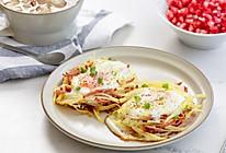 #秋天怎么吃#鸟巢土豆煎蛋|元气早餐的做法