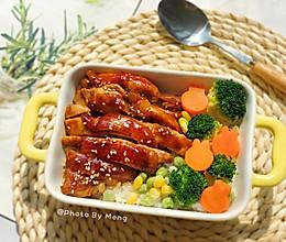 照烧鸡腿饭【一人食优选】#秋天怎么吃#的做法
