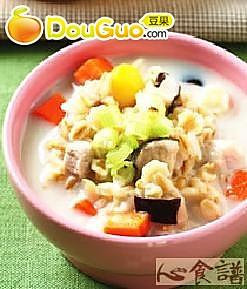 豆浆咸粥的做法