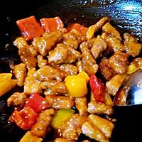 彩椒咕咾肉的做法图解8