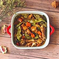㊙️冬日下饭菜--鸡腿肉炖宽豆角的做法图解10