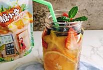 综合水果柠檬水沙拉#糖小朵甜蜜控糖秘籍#的做法