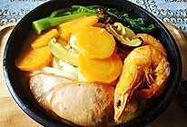 日式咖喱海鲜乌冬面的做法