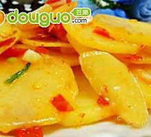 剁椒炒土豆片