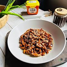 #一勺葱伴侣,成就招牌美味#酱汁浓郁的京酱肉丝