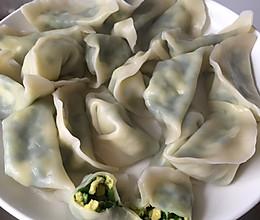素水饺(韭菜鸡蛋虾皮)的做法