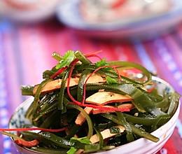 豆干海带丝的做法