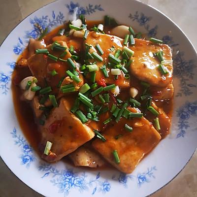 家庭版红烧豆腐