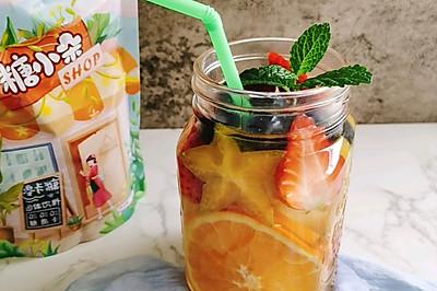 综合水果柠檬水沙拉