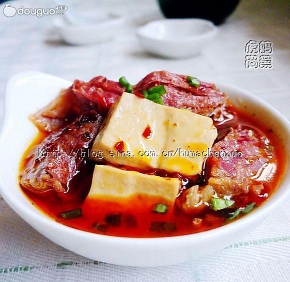 红烧羊肉豆腐的做法