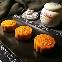 """广式莲蓉&豆沙蛋黄月饼#享""""美""""味#的做法图解22"""