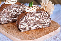 可可千层蛋糕卷的做法