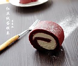 一见倾心——红丝绒蛋糕卷的做法