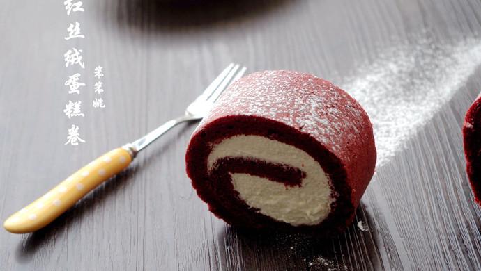 一见倾心——红丝绒蛋糕卷