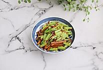 #520,美食撩动TA的心!#芹菜炒豆干的做法