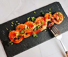 黄油烤虾+黄油虾仁炒饭#入秋滋补正当时#的做法