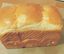 奶香土司(面包机+烤箱的完美组合)的做法