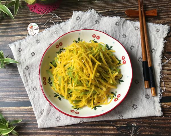 青椒炒贝贝南瓜的做法