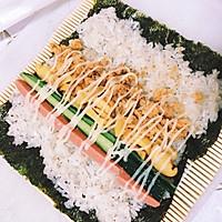 【寿司系列】基础:简易寿司卷。的做法图解2