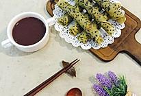 黑芝麻甜蛋卷的做法