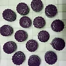紫薯饼(椰蓉馅)