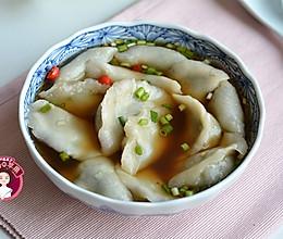 韭菜海米芋头饺子的做法