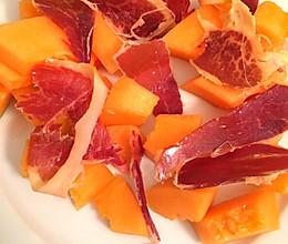西班牙火腿蜜瓜的做法