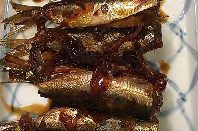 水煮沙丁鱼