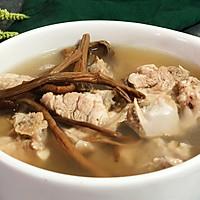 茶树菇竹笙排骨汤—夏日养生的做法图解13