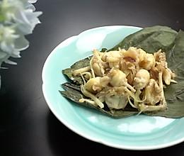 荷叶红枣子姜蒸青养的做法