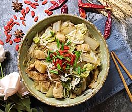 #快手又营养,我家的冬日必备菜品#五花肉炖白菜的做法