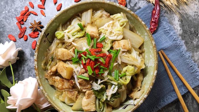 五花肉炖白菜