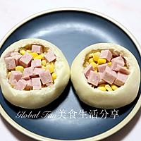 高颜值营养早餐   火腿玉米烘蛋塔 #助力高考营养餐#的做法图解5