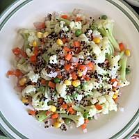 西式沙拉--三色黎麦花菜沙拉#宜家让家更有味#的做法图解15