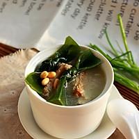 海带黄豆煲小排的做法图解8