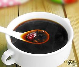 黑豆红枣甜汤的做法