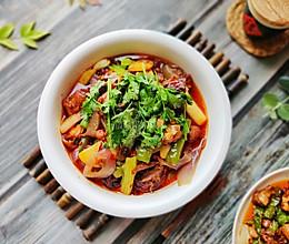 家常香辣干锅排骨+鸡的做法