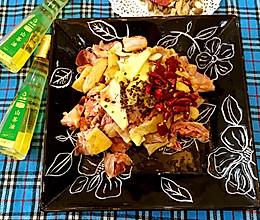 年夜饭大盘鸡#沃康山茶油#的做法