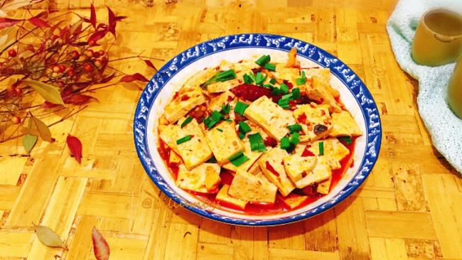 牛肉末麻婆豆腐#吃货打卡季#的做法