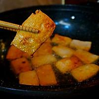 香辣酱汁焖豆腐的做法图解8