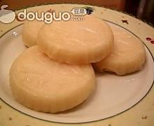 奶黄水晶饼 Chinese Custard Cake