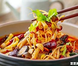 水煮菌菇|麻辣爽脆的做法