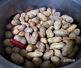 低卡路里的宵夜—卤煮花生的做法