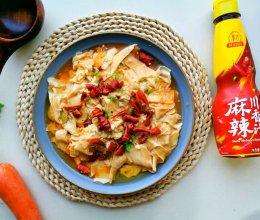 川香葱油豆腐皮的做法