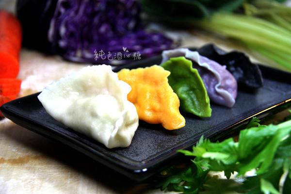五财饺子的做法