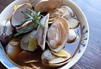 #我们约饭吧#【懒人食单】酒蒸蛤蜊的做法