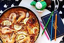 #今天吃什么#西班牙海鲜烩饭的做法