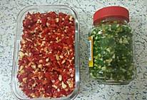 自制青红剁椒的做法