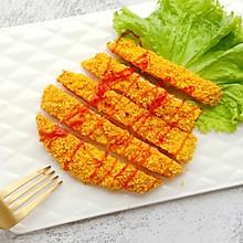 #硬核菜谱制作人#香烤鸡排(非油炸)